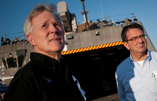 Carter's Rebuke of Navy Budget Proposal Points to Split Between Service, DoD Priorities