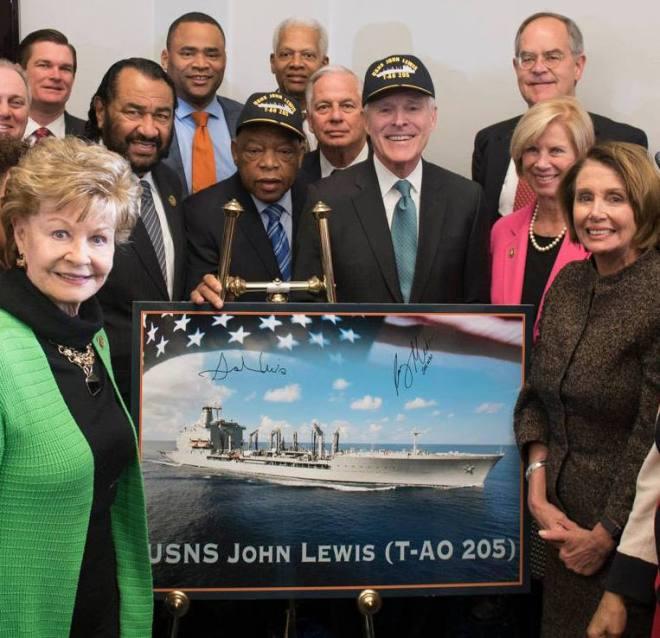 SECNAV Mabus Names First T-AO(X) Next Generation Oiler After Rep. John Lewis