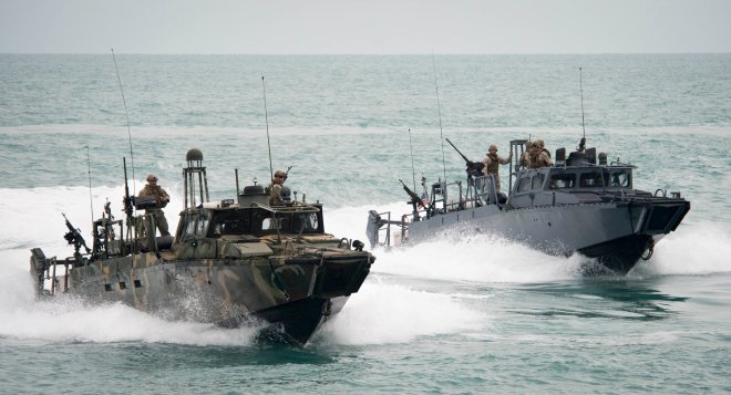 10 U.S. Riverine Sailors Released from Iranian Custody