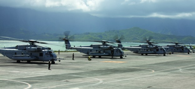 Search Continues For 12 Marines Involved in CH-53E Crash In Hawaii