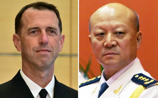 Head of Chinese Navy Defends South China Sea Moves in Teleconference with CNO Richardson
