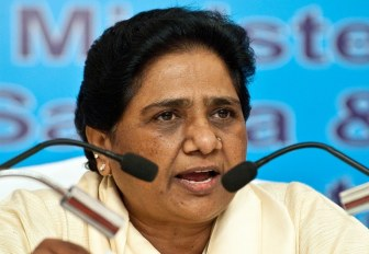 BJP stalled house to stop quota bill: Mayawati