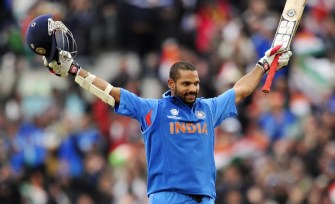 Dhawan wins Champions Trophy golden bat