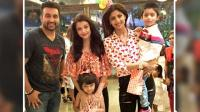 Aishwarya Rai Bachchan & Aaradhya bachchan at Shilpa Shetty's sons birthday party!