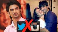 Why Sushant Singh Rajput deleted twitter and instagram? find out
