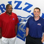 A NEW ERA of Grizzly Basketball is underway at Missouri State University-West Plains, and it will be guided by new Head Coach Chris Popp, right, and Assistant Coach Reggie Freeman. (Missouri State-West Plains Photo)