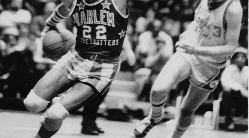 "The legendary Fred ""Curly"" Neal dribbled his way into the Naismith Basketball Hall of Fame with the Harlem Globetrotters./Photo Courtesy of the Harlem Globetrotters"