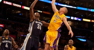 Guard Steve Blake gives the Los Angeles Lakers' title hopes an added dimension this posteseason.
