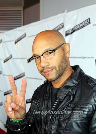Actor Stephen Bishop on the red carpet after the People's Choice Awards.Photo Credit: Cory Coffield
