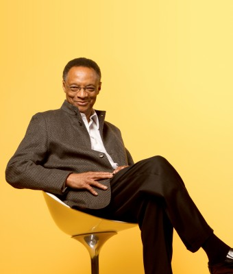 Jazz great Ramsey Lewis takes the at the 34th Playboy Jazz Festival at the Hollywood Bowl.