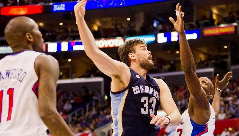 Marc Gasol and the Memphis Grizzlies bounced back from a Game 1 loss to Kevin Durant and the Oklahoma City Thunder. Photo Credit: Mac Alexander / News4usonline.com