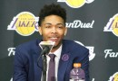 Brandon Ingram is at home with Lakers