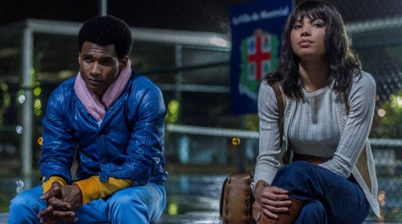 Usher Raymond and Jurnee Smollett-Bell star in HANDS OF STONE