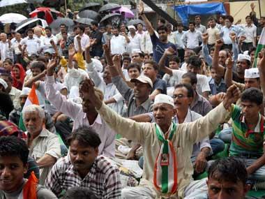 Anna hazare at Jantar mantar Live 24x7