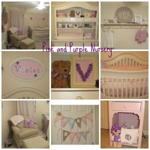 pink and purple nurser
