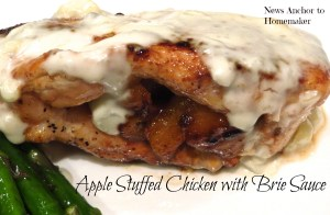 Apple Chicken with Brie Sauce