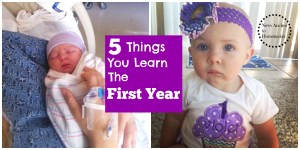 5 Things You Learn the First Year
