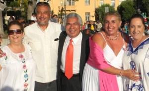 Alfredo Amezcua and Art Lomeli and friends