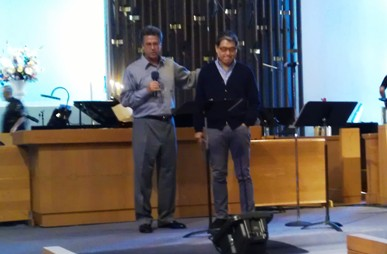 Pastor Andy Quient and Pastor Dave Gibbons