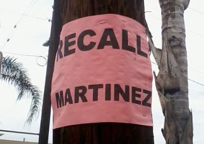 Recall Martinez