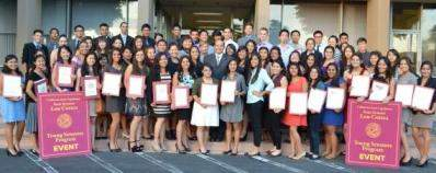 Young Senators Program 2011-2012 Graduation