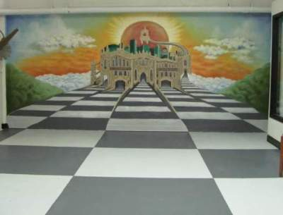 What the Santora Mural looked like before it was destroyed