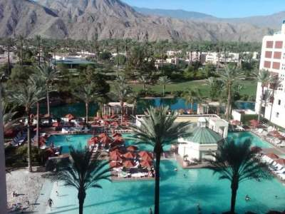 The Renaissance Esmeralda Indian Wells Resort & Spa where Michele Martinez had a good time at