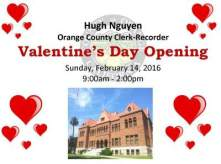 OC Valentine's Day at the Old Courthouse