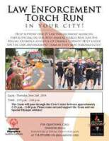 SAPD Torch Run TN