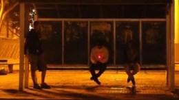 Brazil Bus Stop Shooting Prank