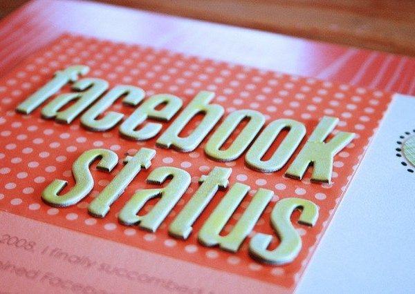 facebook status