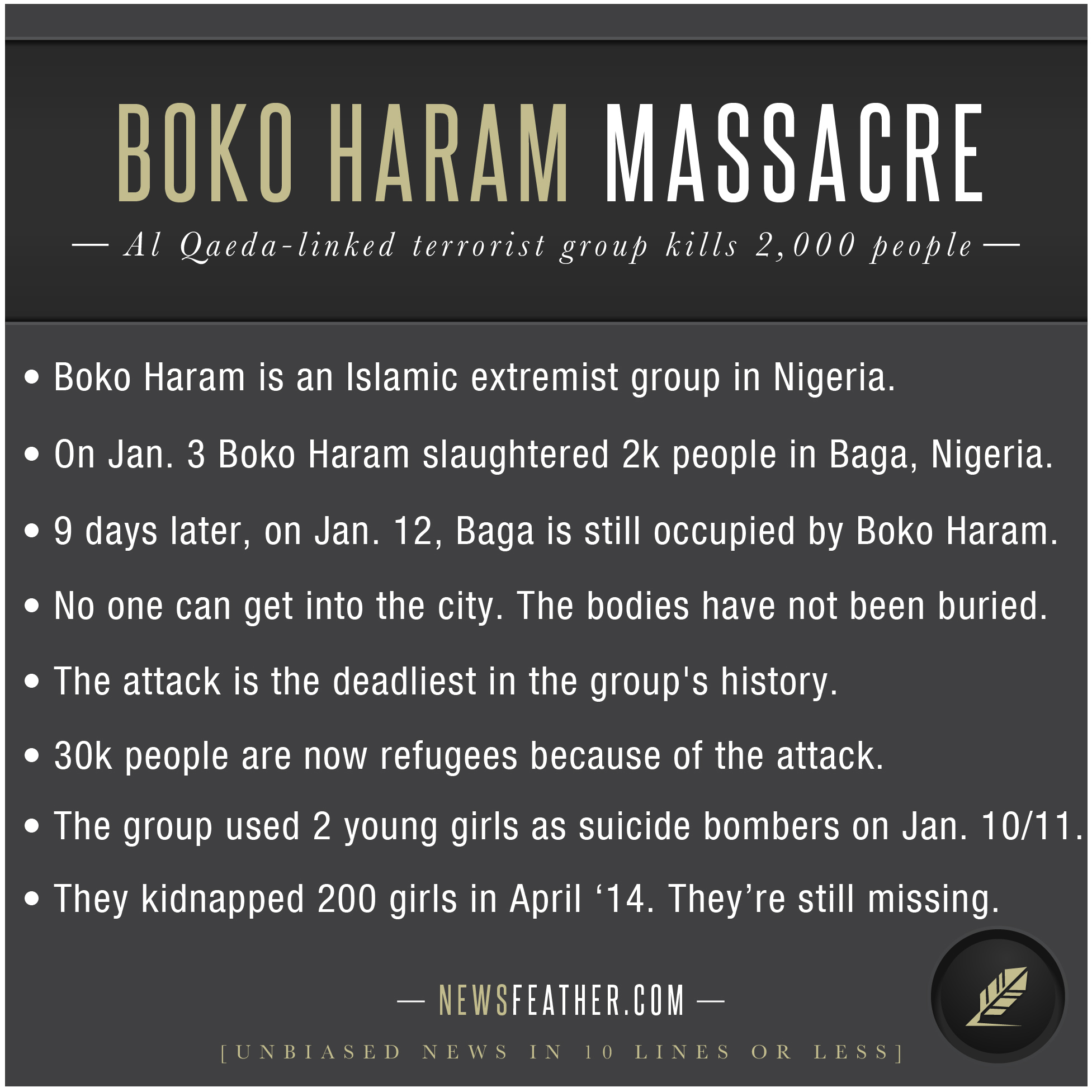 a history of the creation of boko haram a terrorist group in nigeria Boko haram, the militant nigerian group boko haram and the islamic state but learning lessons from the history of fighting islamic terror organization we.