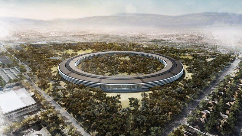 """航拍Apple """"Spaceship"""" ��菘氨任褰谴��"""