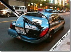 seattle police leave weapon on back of car neglect