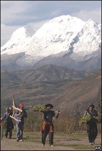 Glaciar Pastoruri, Perú