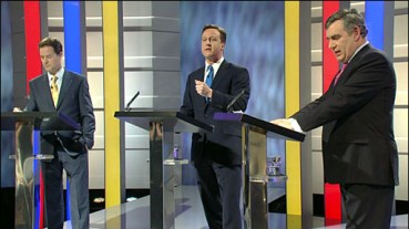 47653745 debate512 UK Election: Three way clashes in historic TV debate