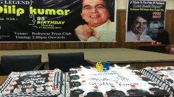 Pakistani city celebrates Indian star Dilip Kumar's 95 th. birthday