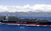 Horizon Lines is one of four maritime shippers serving Puerto Rico. (Credit: www.horizonlines.com)
