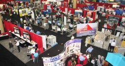 The Interphex exhibitors area draws hundreds of local medical device and pharmaceutical industry players.