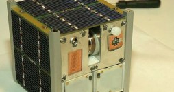 The CINEMA nanosatellite that will soon be put into orbit is much like the one in this photo. (Credit: Wikipedia)
