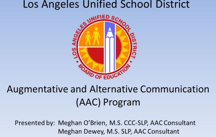 los angeles unified district school