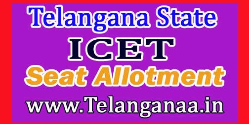 ts icet seat allotment order