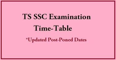 Telangana ssc 10th class dates
