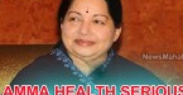 amma jayalalitha health condition