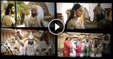 Bahubali Leaked Video