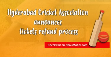 Hyderabad Cricket Association announces tickets refund process