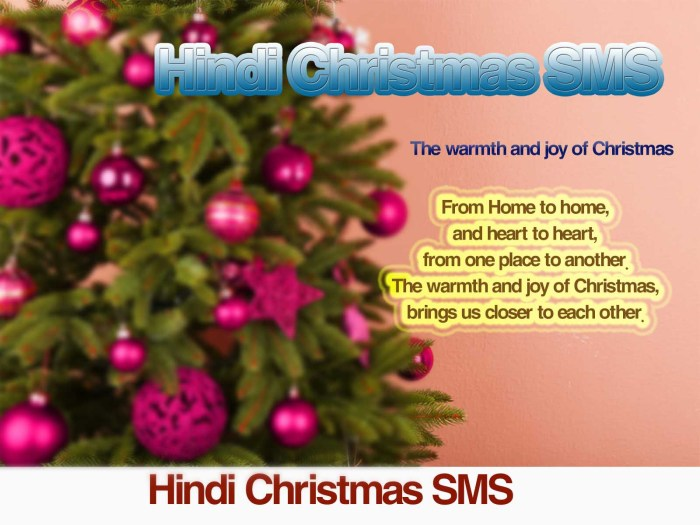 Free Merry Christmas Sms, Wishes, Shayari, Messages in Hindi & English