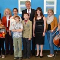 Kreis ehrt erfolgreiche Jugendmusik