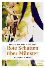 """Buchcover des neuen Krimis """"Rote Schatten über Münster"""". Foto: Emons Verlag"""