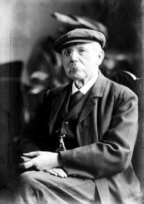 Der Fotograf Johann Hermann Jaeger um 1900. Foto: LWL